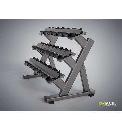 Image of   DHZ Evost I Triple Dumbbell Rack