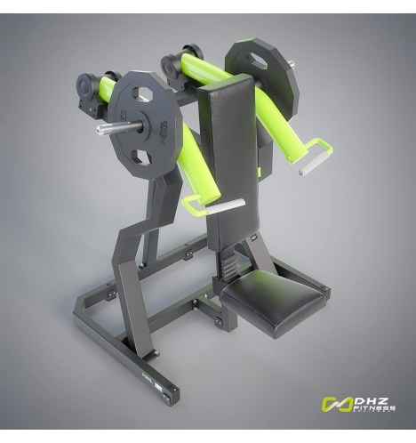 Klik her for at se store billeder af DHZ Plate Loaded Shoulder Press