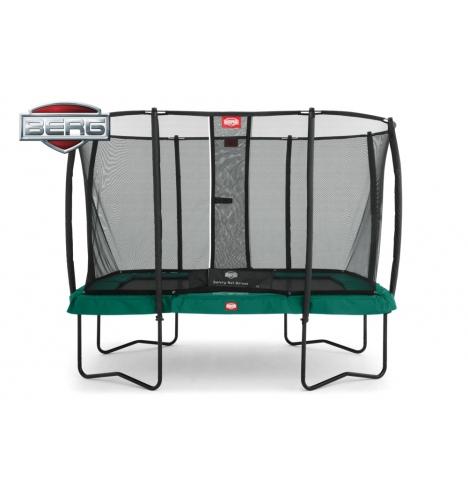 Firkantet trampolin pris blue elements tilbud