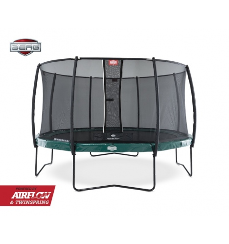 Image of   BERG Elite 380 grøn inkl Deluxe sikkerhedsnet