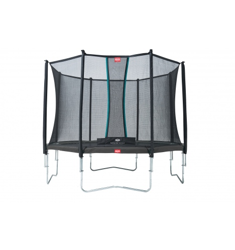 Image of   BERG Favorit 380 grå inkl Comfort sikkerhedsnet