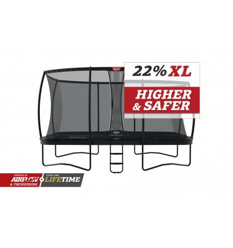 Image of   BERG Ultim Elite 500 grå inkl sikkerhedsnet Deluxe XL